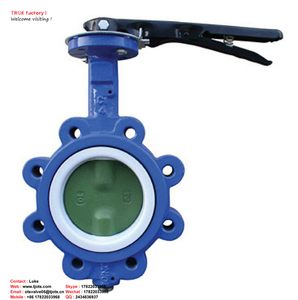 Good Price quality dn300 stainless steel with drain lug Welded fire protection butterfly valve