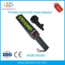 Super body scanner Hand held security metal detector low cost made in china