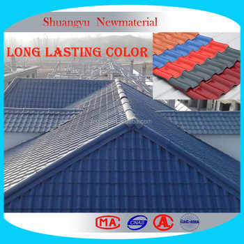 Waterproof Plastic Roof Sheet /corrugated Anti Corrossion UPVC Roofing Sheet/long  Span PVC