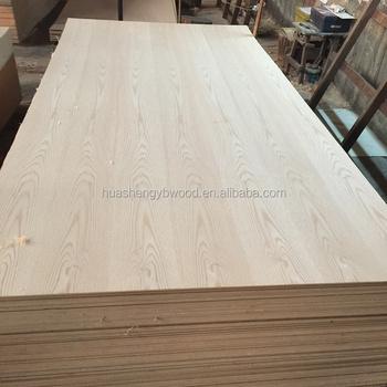 C/C Grain Natural Red Oak Veneered MDF For Furniture