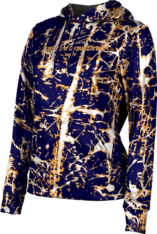 Girls' USS City of Corpus Christi Military Distressed Hoodie Sweatshirt