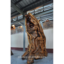 Natural animal root carving snake wood carving