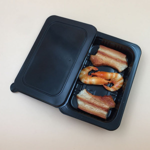 High quality oven use CPET tary take away food container and meat packing box