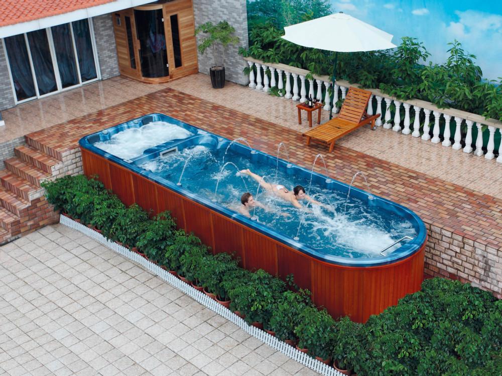 10 person swim spa above ground swimming pool fiberglass rectangular buy 10 person swim spa. Black Bedroom Furniture Sets. Home Design Ideas