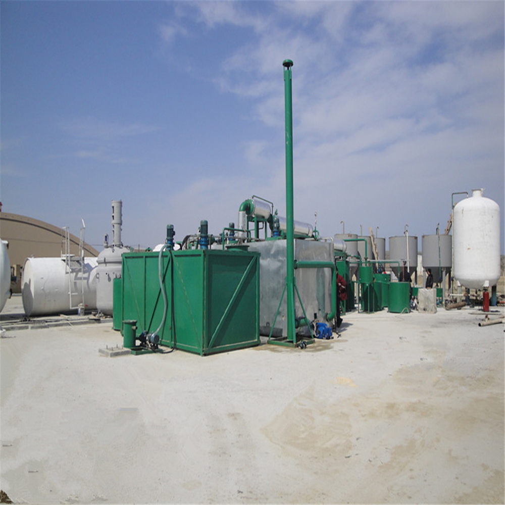 ZSA Waste Black Oil Refinery Recycling Equipment