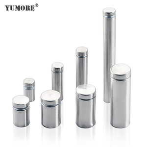 OEM design wholesale stainless steel flat head standoffs spacer bolt ss201glass standoff pin