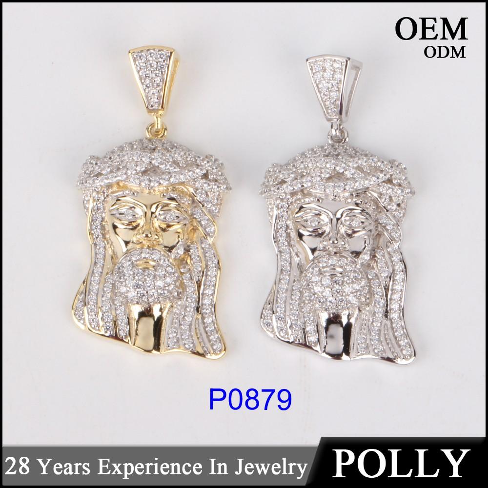 Micro set jesus pendant 925 sterling silver jesus piece jewelry micro set jesus pendant 925 sterling silver jesus piece jewelry for men aloadofball Choice Image