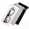Custom microfiber cleaning cloth sunglass pouches for glasses sunglass