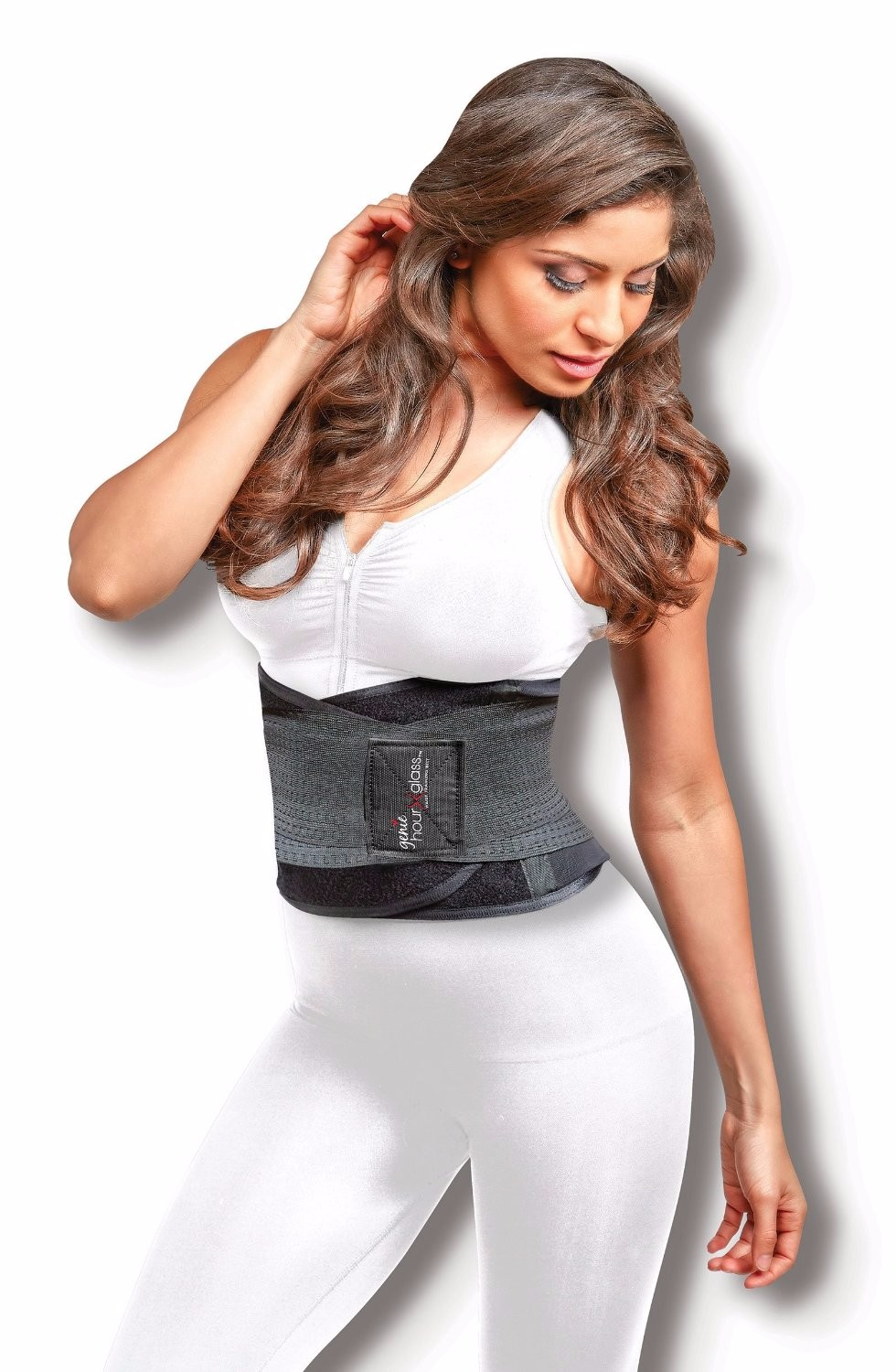 New Genie Hourglass Slimming Belt With Body Shaper Waist Miss Korset Pelangsing Instant Shape Perut Trainer