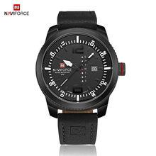 NAVIFORCE модные часы для мужчин, 2016, люксовый бренд, мужские кварцевые часы с датой, спортивные часы, мужские армейские военные наручные часы(Китай)