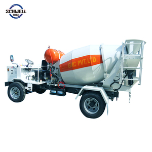 Hot Sale Mini Truck Concrete Mixer 1.5 Cbm Beton Mixer Truck