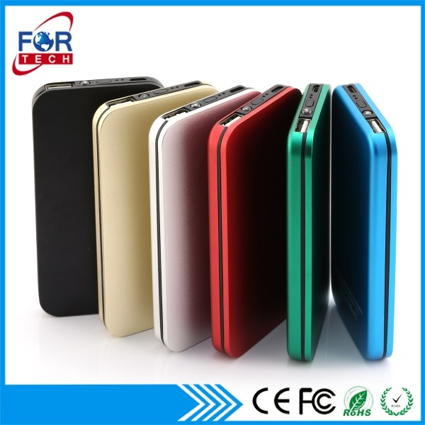 High Capacity 4000 MAh Universal Promotional Corporate Power Bank Battery Charger With LCD Display