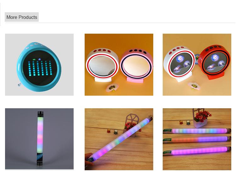 아마존 Top Seller Mini Blue tooth 스피커 와 Music Control LED 프로모션 스피커 Smart 아령 무선 스피커
