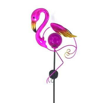 Flamingo Stick Decoration Waterproof Led Stake Solar Garden Light
