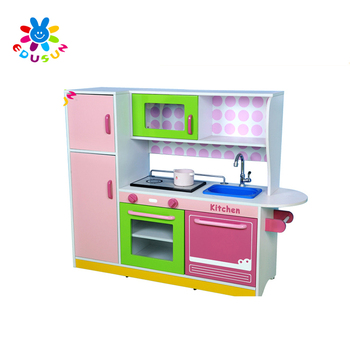 Child kitchen toy wooden funny reality happy kitchen toys play set, View  kitchen toy, Edusun Product Details from Zhejiang Sunflower Educational ...