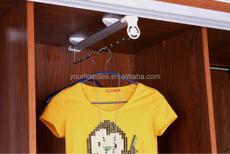 Good quality Cabinet/wardrobe accessories,retractable clothes hanger