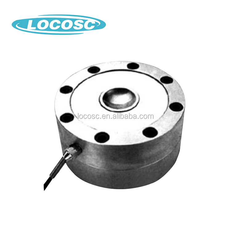 Zhejiang Low Profile Onboard Spoke Type Through Hole Compression Load Cell,Impacting Force Load Cell Scales 200Kg To 10T