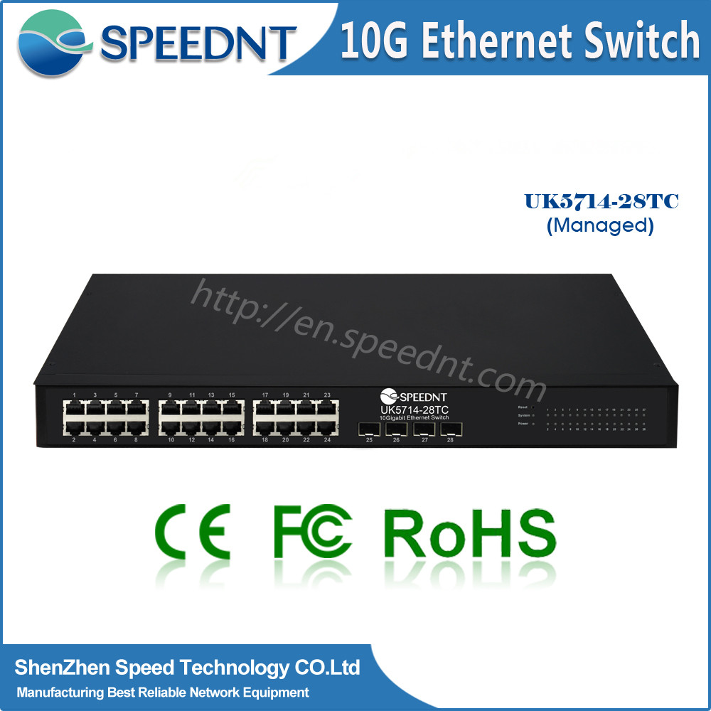 Good price 10g base-t ethernet copper ports network swithes