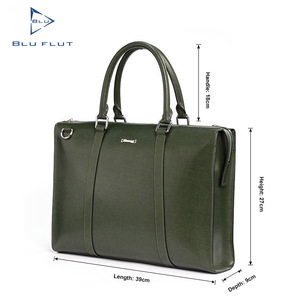 Full Grain Leather Executive Handbags Made Of Genuine Leather For Men,Travel Handbags For Man