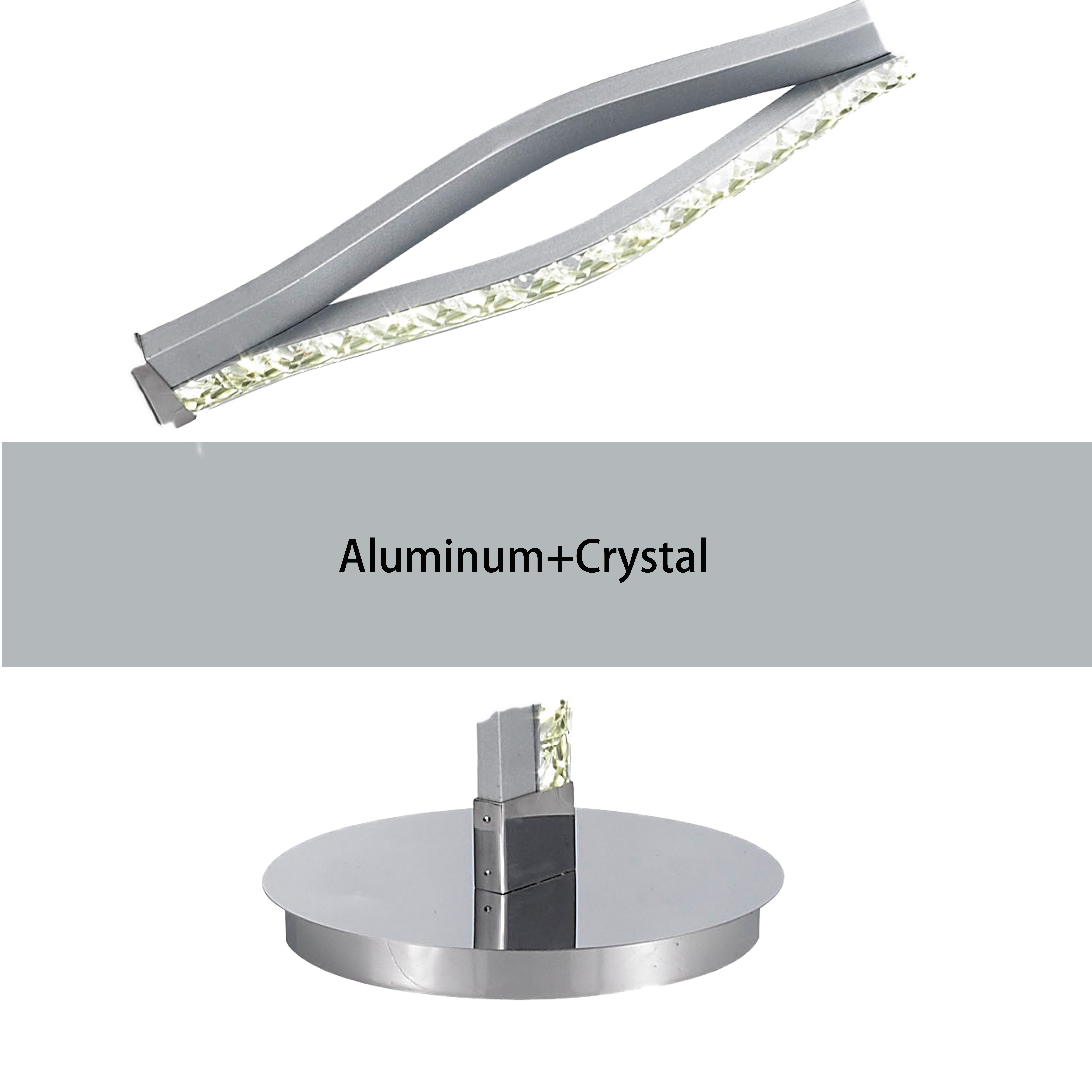 Hot Sale European Style Ripple crystal Floor Indoor stand Lamp floor Lighting For Lobby