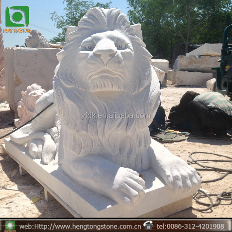 Stone Carving Lion Factory