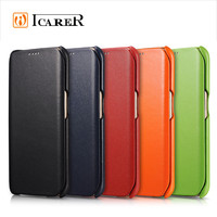 Genuine Leather Wallet Case For Samsung Galaxy S6 Edge,Ultra Thin Flip Mobile Phone Cover For S6