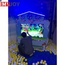 children's 3d touch screen interactive game+park children interactive