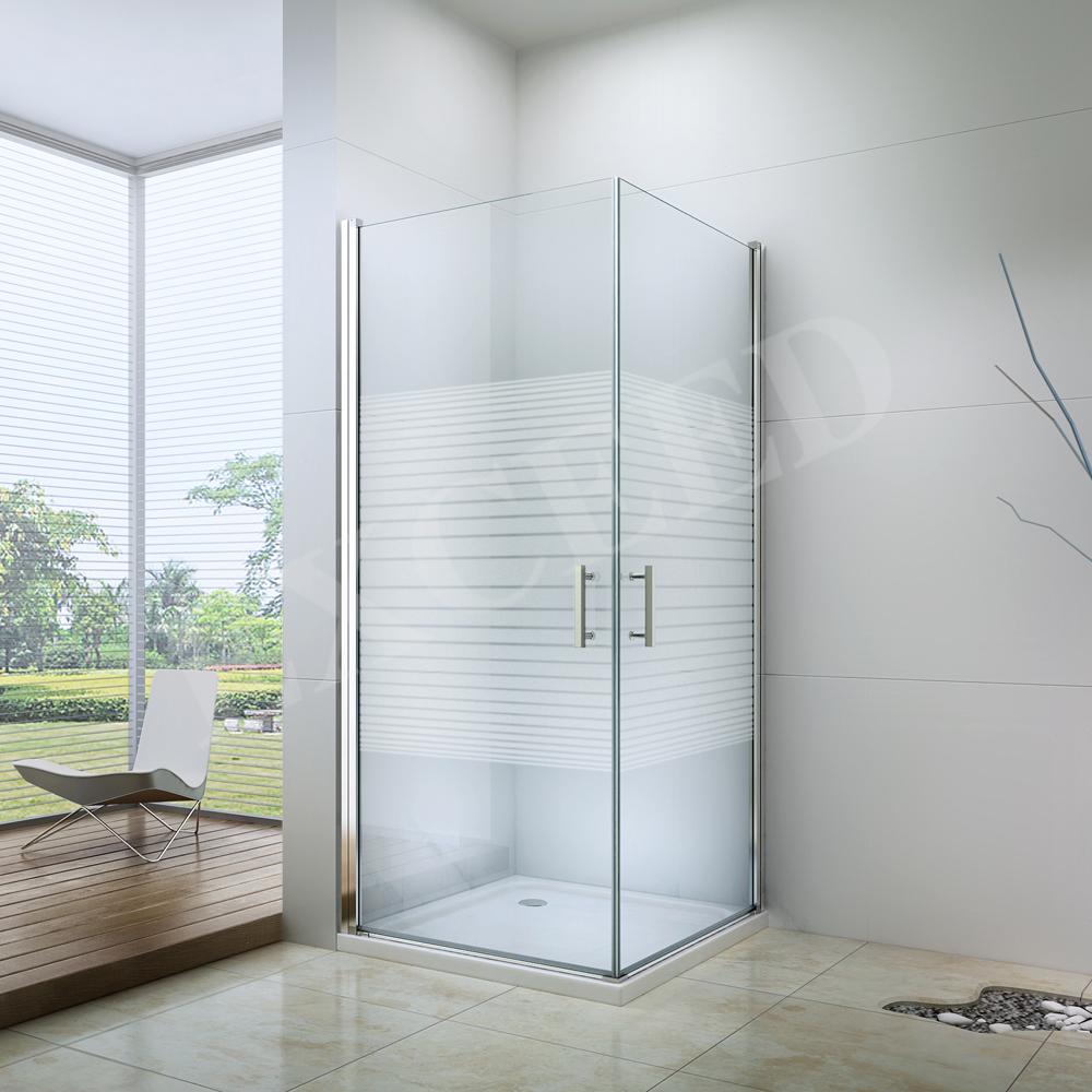 EX-101 China 1 Glass Shower Screen Walk In Shower Enclosure