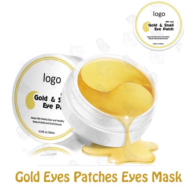 Hot Selling Anti-aging Forever Living Products Gold Collagen Eye Mask With Private Label