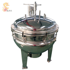 500 liter stainless steel industrial pressure steam cooker for meat