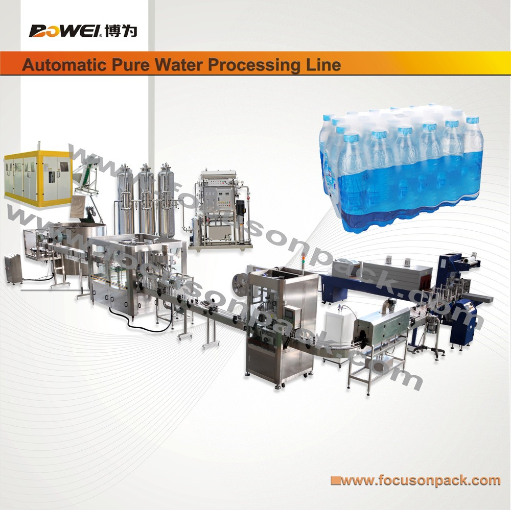 Small Bottled Water Production Line Water Bottling Line Mineral Water Production Line