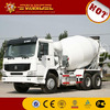 2016 China new Sinotruck Howo 8m3 6x4 small concrete mixer truck