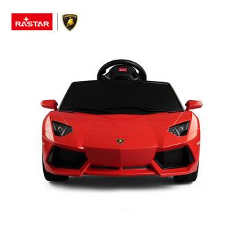 Rastar Lamborghini Aventador Crianças Passeio Em Carro Elétrico