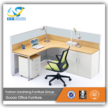 2017 Modern Newest Work Station Office Desk With Scalable Sleeping