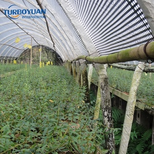 greenhouse used pe plastic film products black white shading film waterproof poly sun shade sheet