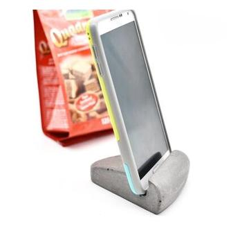 Cement Concrete Mobile Phone Holder Desk Cell Phone Stand Buy