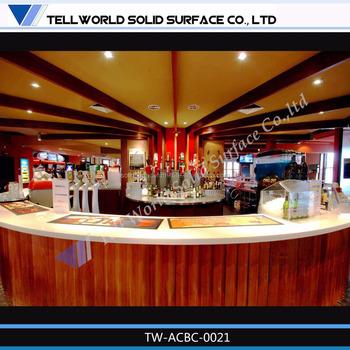 Custom Fantastic Boat Bar Furniture Boat Shaped Bar Counter