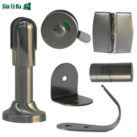 JIALIFU hardware for 12mm hpl panel shower cubicle accessories