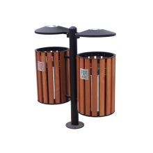 Arlau outdoor durable garbage can,park rubbish bin,ashtray bin outdoor