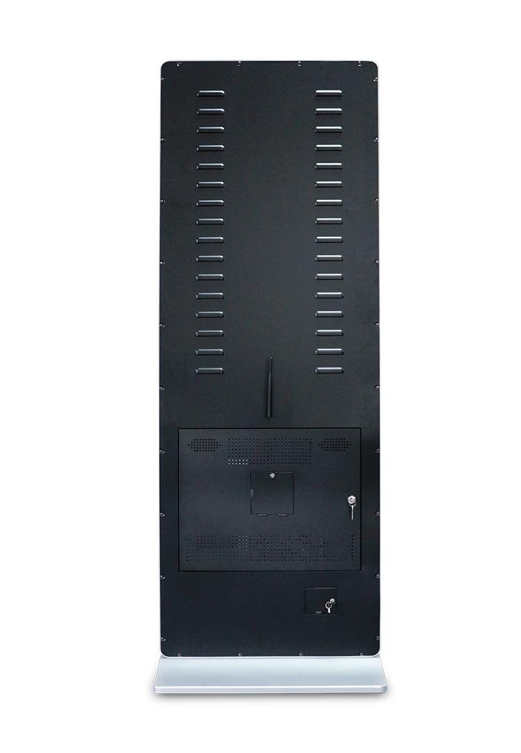 Dsm80 デジタル看板広告 55 インチのフロアスタンドのデジタル看板