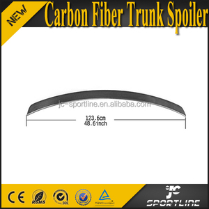 A Style W218 CLS550 CLS Class CLS63 Carbon Fiber Rear Trunk Spoiler Boot for Mercedes Ben z