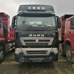 Factory Price Diesel Fuel Type 40 Ton Heavy Duty Howo A7 540 horse power  tractor Truck For Sale