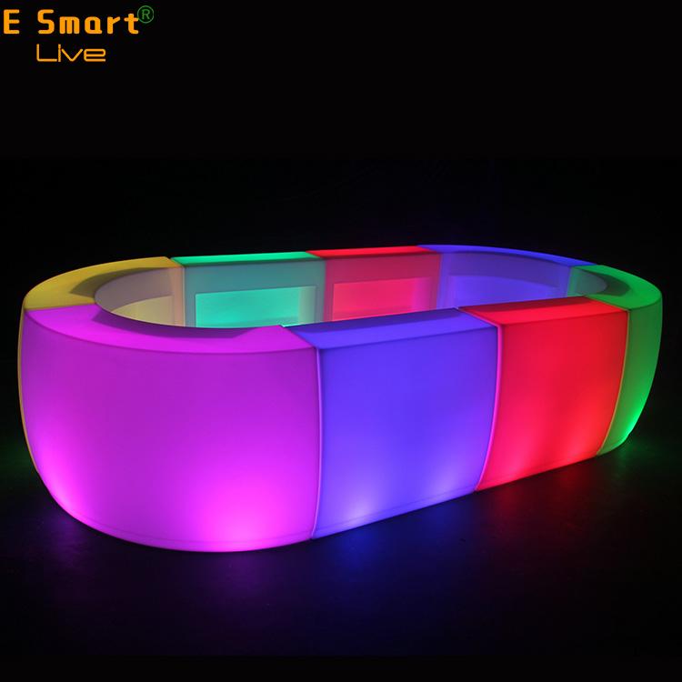 Mobile bar counter folding portable bar counter led bar counter