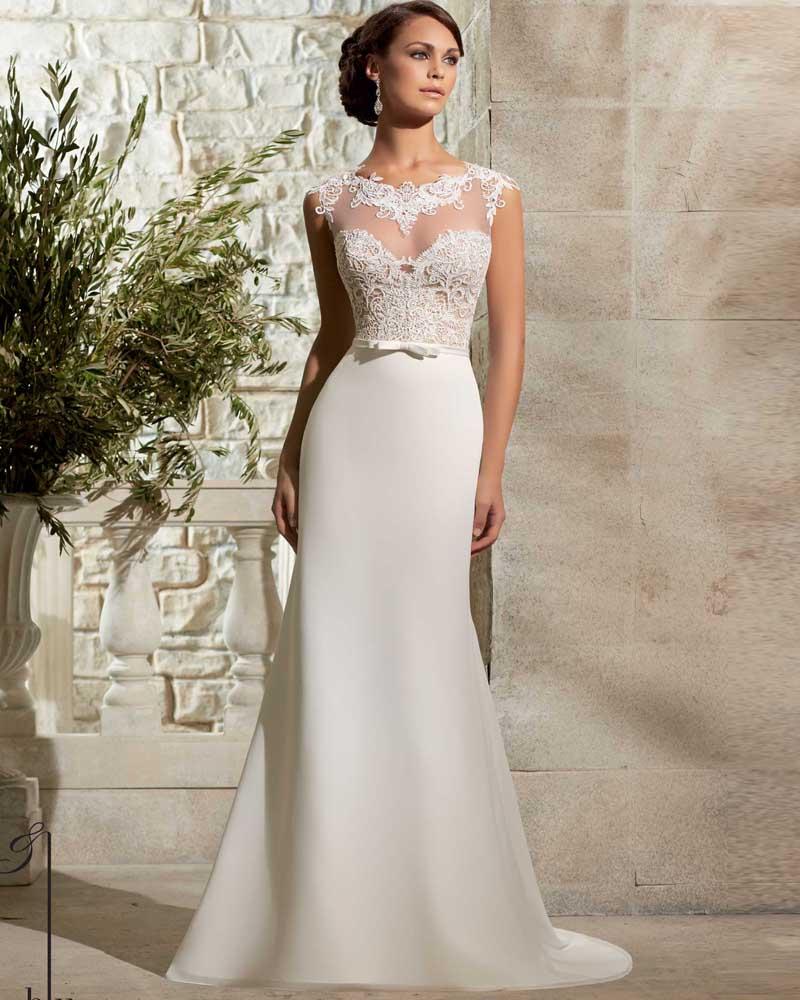 Vestidos De Novia Chiffon Beach Wedding Dresses Sexy