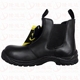 Smooth action leather safety shoes industry safety shoes for workman