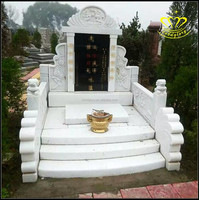 Natural granite marble tombstone family monument