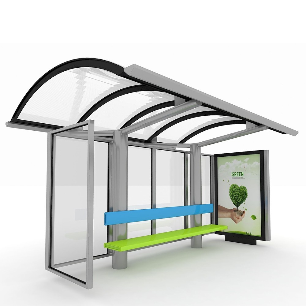 product-2020 Newest Design Bus Stop Shelters Bus Station design-YEROO-img