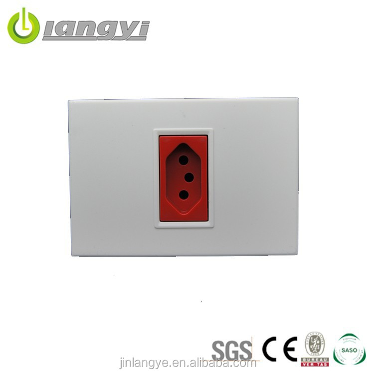 China Manufacturer Pc Material Electric Outlet Socket