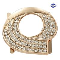 rhinestone shoe buckle shoe accessories for ladies shoes