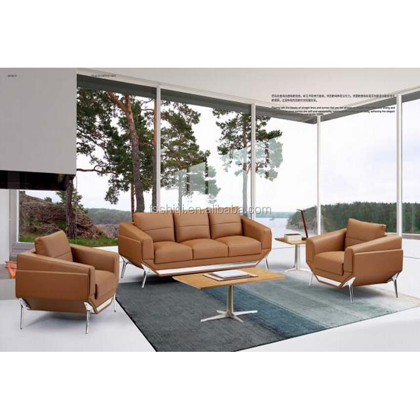 Luxury Office Furniture Modern Leather Sofa Set - Buy Leather Sofa Set,Sofa  Set,Sofa Product on Alibaba.com